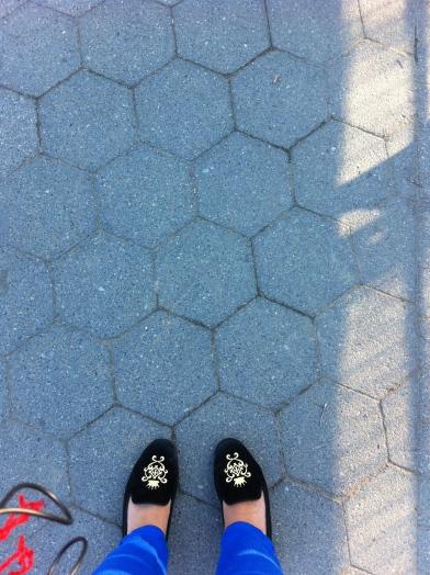 Walking shoesCentral Park, April 2013Photo credit: nishaksquared