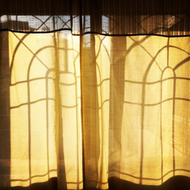 Sunlight through the windows of our Mumbai apartment circa 2011 Photo credit: nishaksquared