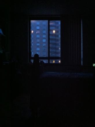 Sitting in the dark Photo credit: nishaksquared