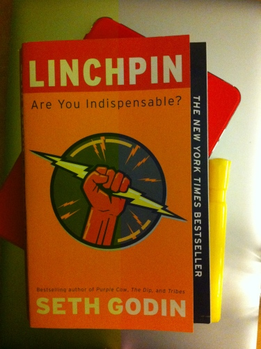 Linchpin made me an active student reader once again Photo credit: nishaksquared