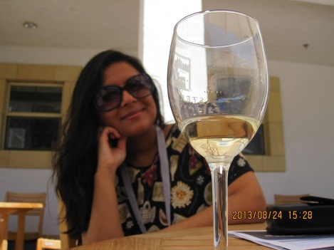 Just a snapshot of my time in wine country. Photo credit goes to my hubby.