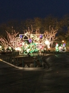 The entrance to Hersheypark Christmas Candylane Photo credit: nishaksquared