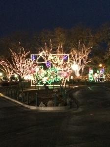 The entrance to Hersheypark Christmas Candylane Photo credit: nishaksquared