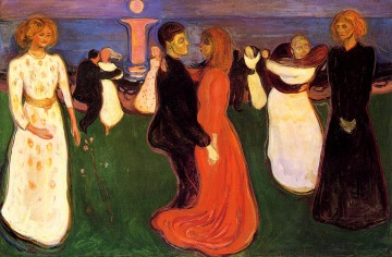 "I love everything about this Edvard Munch painting -- ""The Dance of Life"" -- for almost two decades."